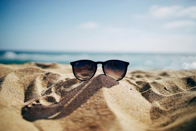Okulary na plażę