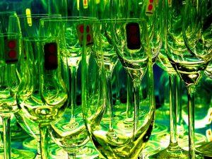 zielone szkło